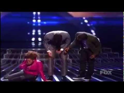 X Factor - Rachel Crow breaking down (OFFICAL VIDEO) HD