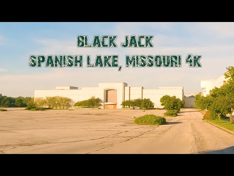 Abandoned Jamestown Mall and More: Black Jack & Spanish Lake, Missouri 4K.