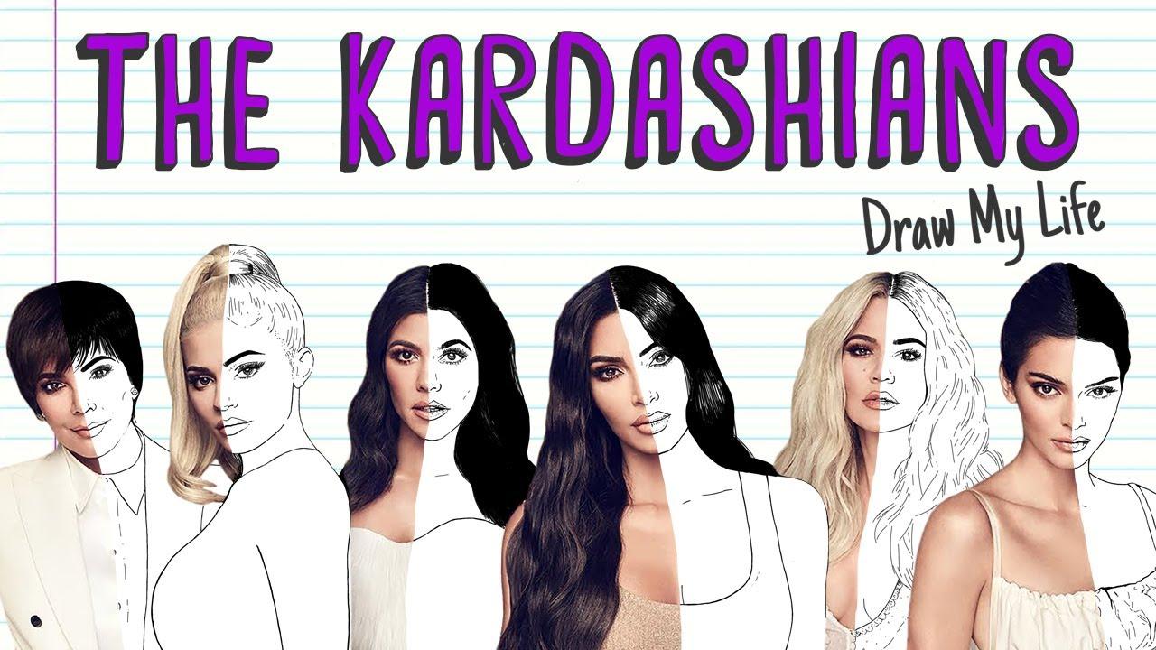THE KARDASHIANS | Draw My Life