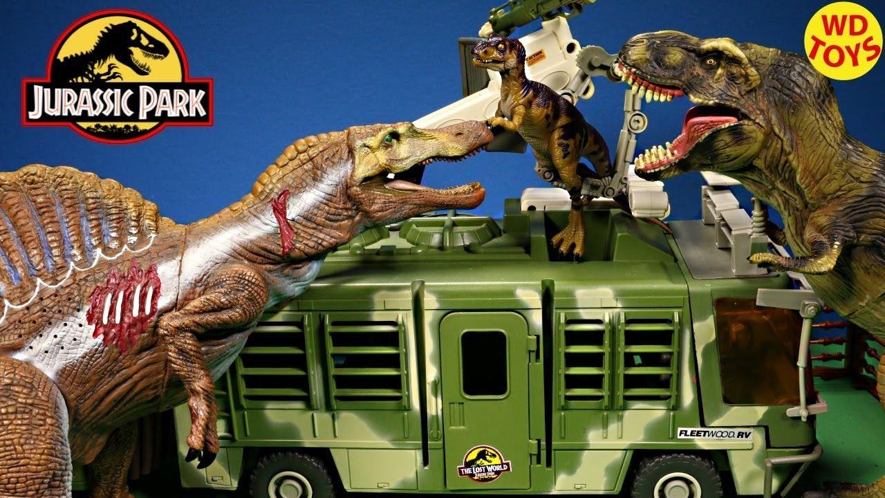New Jurassic Park Electronic Mobile Command Center Trailer ...