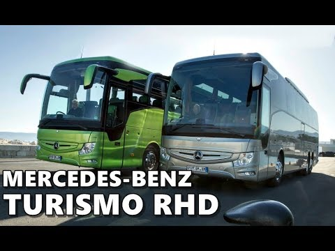 Mercedes benz tourismo rhd touring coach youtube for Mercedes benz touring coach