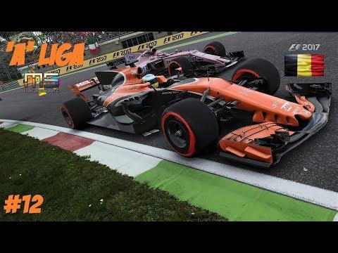 """F1 2017 """"A"""" LIGA // 12.FUTAM: BELGA GP // MIRAGESPORT.TV KÖZVETITÉS"""