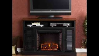 SEI Antebellum Electric Fireplace Media TV Stand Review - One of the Best?