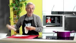Le Delizie di Leonardo #20 - Stracci di Pasta Fresca con Salsa al Provolone e Menta