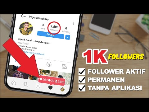 CARA MENAMBAH FOLLOWERS INSTAGRAM AKTIF - 2020