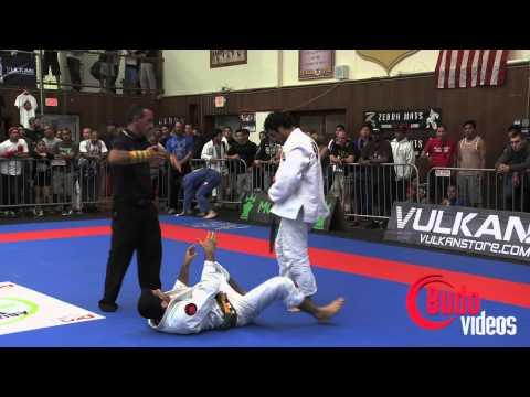 Kron Gracie vs Beneil Dariush Abu Dhabi World Pro Trials San Diego 2012