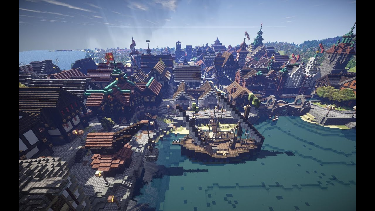 Mittelalter Burgen Minecraft Maps