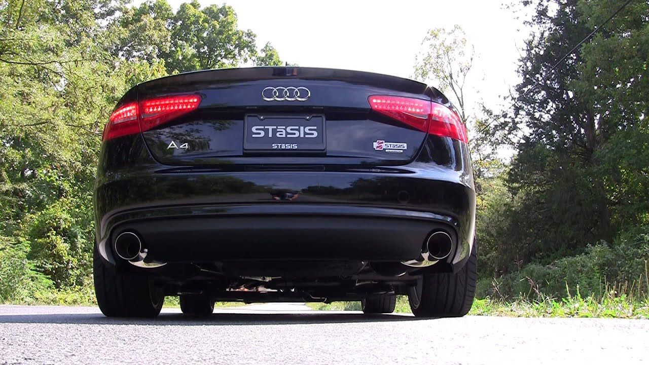 Stasis Signature Series 2013 B8 A4 2 0t Exhaust System