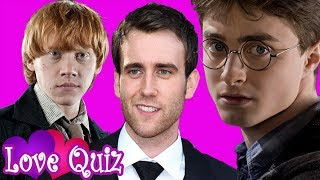Who Is Your Harry Potter Boyfriend?!