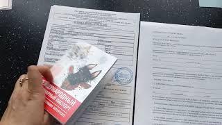 Как оформить документы на щенков? Актировка. Прививки и дегельминтизация.