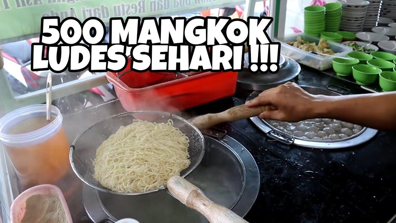 SEHARI LUDES 500 MANGKOK !! INDONESIAN STREET FOOD