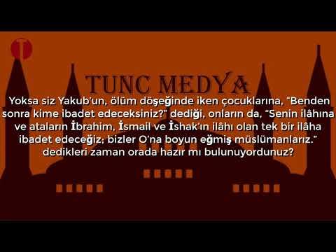 """""""Âlemlerin Rabbine teslim oldum""""  Bakara Suresi 131/133"""