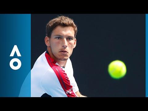 Pablo Carreno Busta v Jason Kubler match highlights (1R)   Australian Open 2018