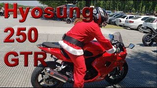 Review Hyosung 250 GTR