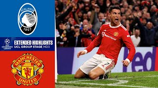 Manchester United vs. Atalanta: Extended Highlights   Group Stage - MD 3   CBS Sports Golazo