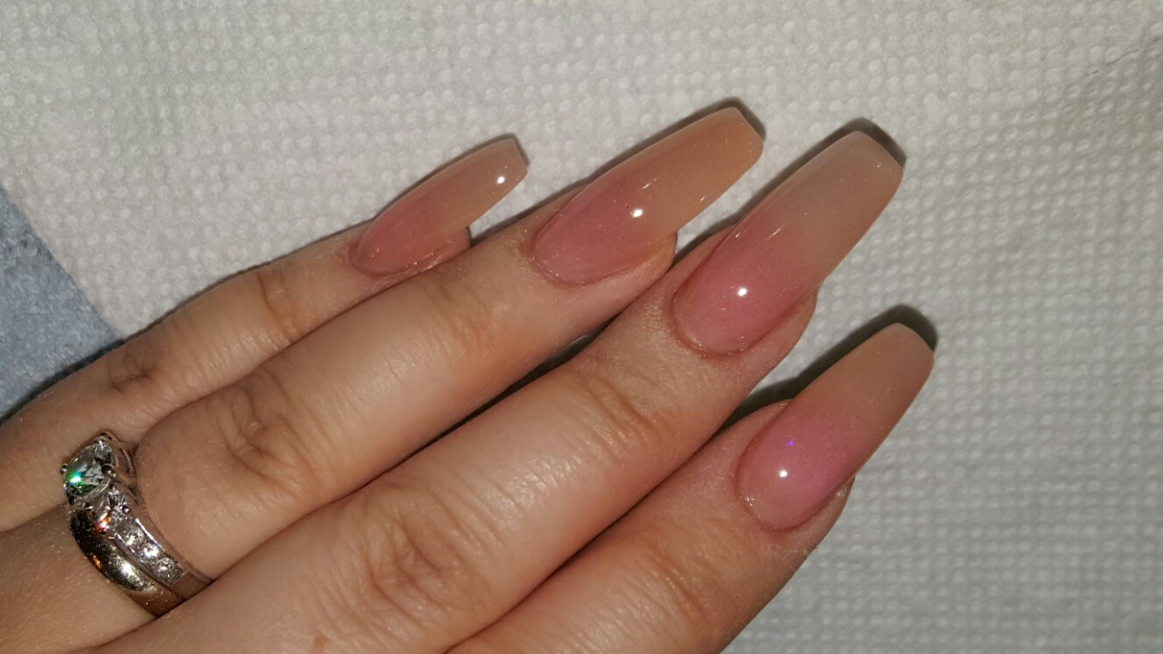 What\'s On My Nails □ All Acrylic Nails    Gorgeous New Look ...