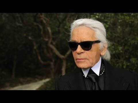Karl Lagerfeld's interview - Spring-Summer 2013 Haute Couture CHANEL show