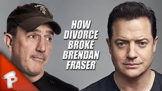 How Divorce Broke Brendan Fraser | Redonkulas.com