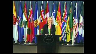 Elizabeth May - Press Conference Concerning Tragic Events on Parliament Hill
