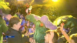 Уфимцам показали знаменитое «Снежное шоу» одного из самых известных клоунов России