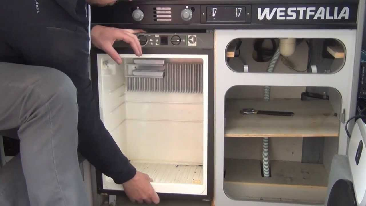 GoWesty  How to Remove the Fridge from Your Vanagon