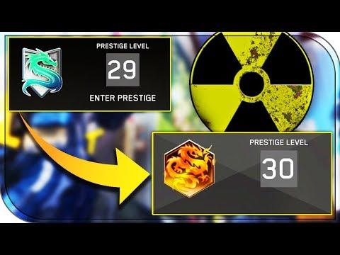 NUKE UNLOCKS MAX PRESTIGE! De-Atomizer Strike unlocks 30th PRESTIGE on Infinite Warfare!