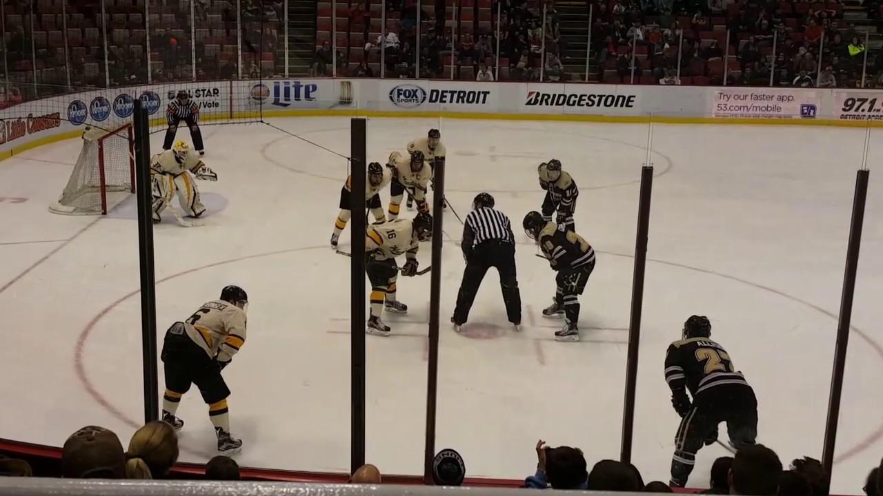 Western Michigan Univ Hockey wins Great Lakes Invitational Dec 30, 2016