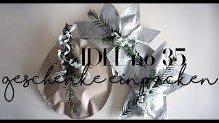Geschenke kreativ verpacken für weihnachten I Idee no.35
