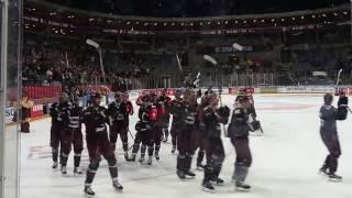 Děkovačka HC Sparta Praha