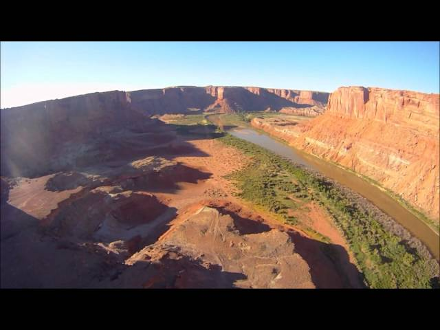 Flying Mineral Canyon airstrip, Moab, UT