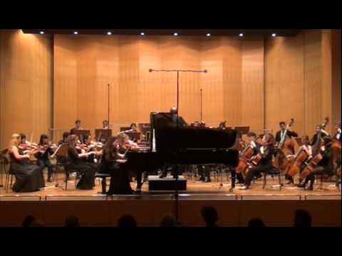 Meryem Natalie Akdenizli, L. v. Beethoven Klavierkonzert Nr.2, Teil 1
