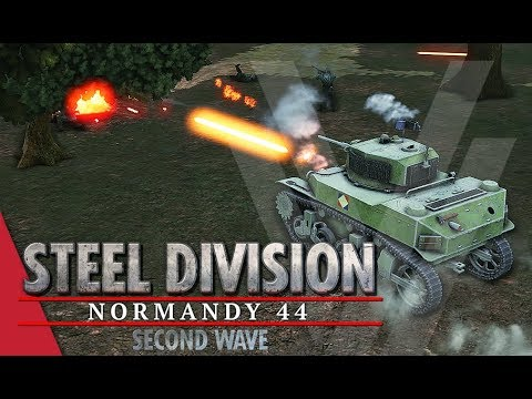 Santa Claws Beta Update! Steel Division: Normandy 44 Gameplay (Bois de Limors, 4v4)