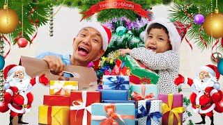 Nora and Dad Get Ready for Happy Merry Christmas