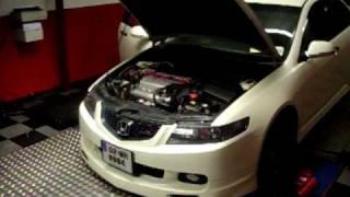Euro R Honda Accord CL7 219.2 Bhp