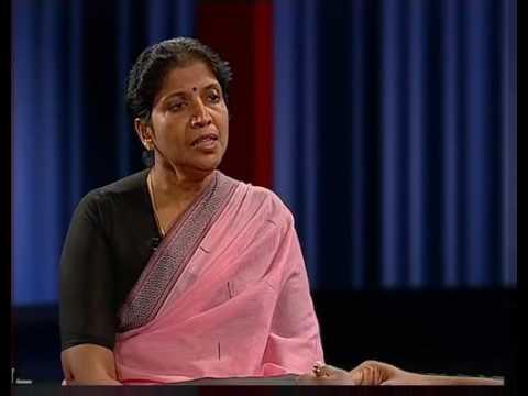 Interview with Tamil human rights activist Shanthi Sachithanandan - Vimarshanam  Tamil ver. clip01
