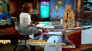Blythe Danner Talking Gwyneth and Coldplay On CBS This Morning with Gayle King 9/2/2012