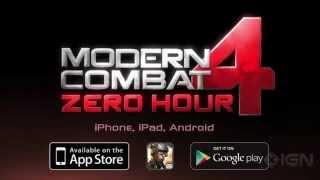 Modern Combat 4 - Launch Trailer