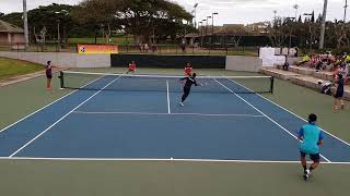 """2018 World Softtennis Watakyu Cup  """"Hawaii Open 🇺🇸"""" Men's final rounds"""