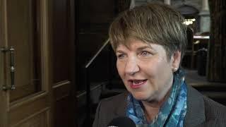 Viola Amherd nach der Wahl zur Bundesrätin