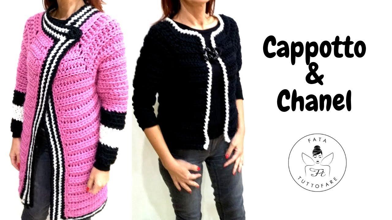 Tutorial Cappotto Chanel Abrigo De Ganchillolafatatuttofare