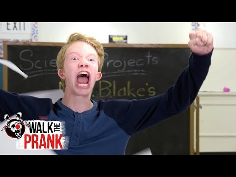 Bottle Flip Madness | Walk the Prank | Disney XD