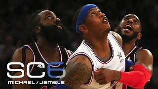 Rockets Pursuing Carmelo Anthony | SC6 | July 10, 2017