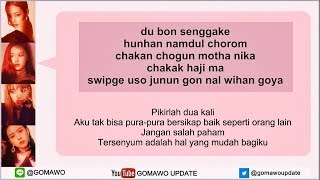 Easy Lyric BLACKPINK - DDU DU DDU DU by GOMAWO [Indo Sub]
