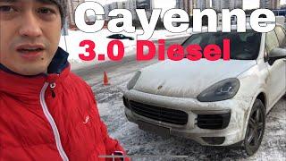 30 000 км на Porsche Cayenne дизель 3.0. Отзыв.