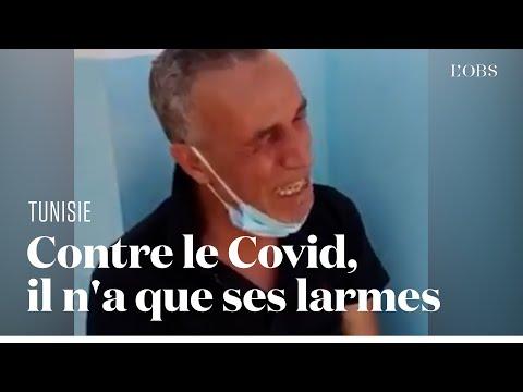 En Tunisie, le directeur d'un hôpital s'effondre face au manque de moyens contre le Covid