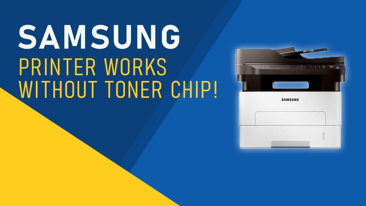 Samsung Printer Toner Chip Hacked!!! | Works Without Toner Chip For  M2676/M2876 | TKW