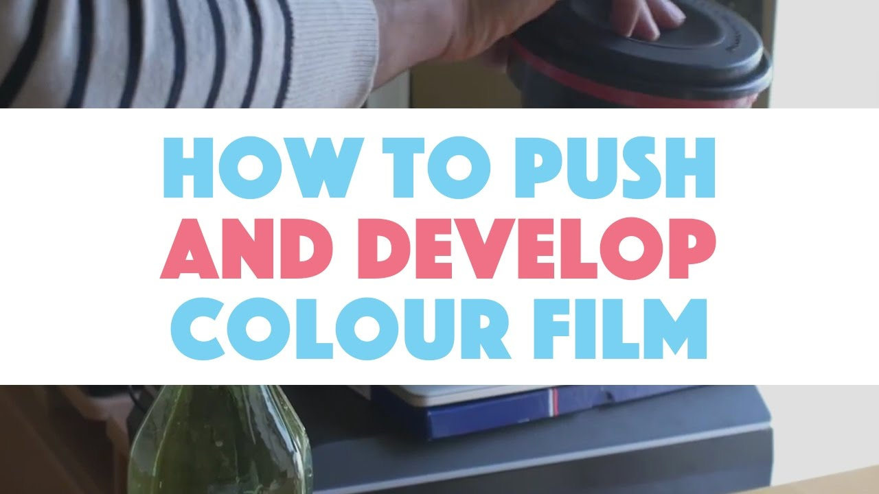 How to Develop and Push the ISO on Color Negative Film at Home