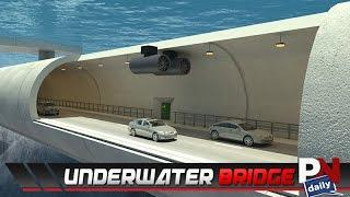 تحت الماء نفق جسر في النرويج!