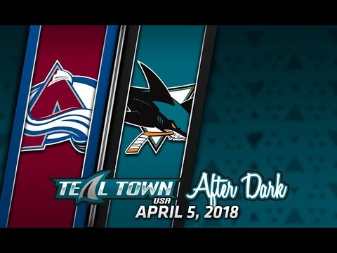 Teal Town After Dark (Postgame) Sharks vs. Avalanche -  4/5/2018