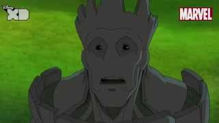 Guardians of The Galaxy | Groot Part 2 | Official Disney XD UK